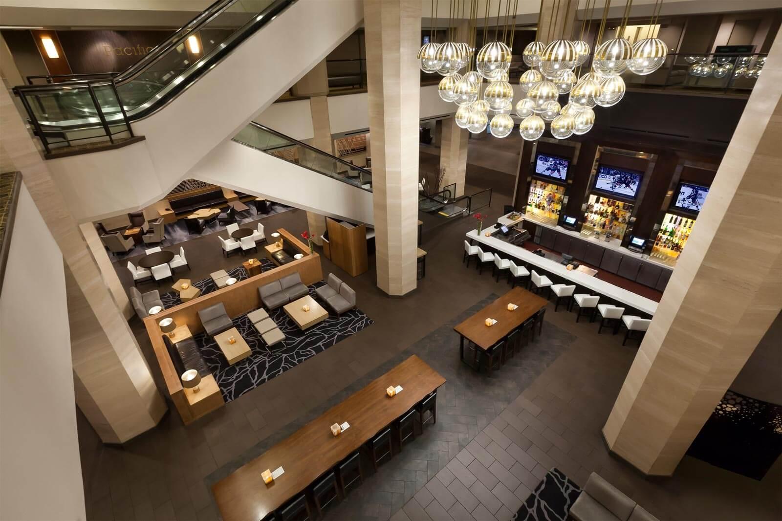 Anaheim Hilton Lobby